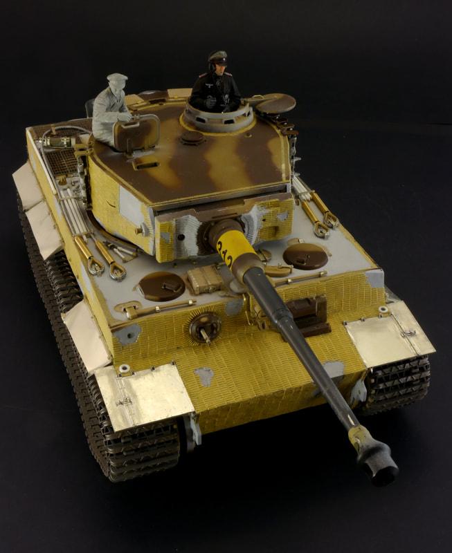 Tiger Tank Interior Model: Custom Tanks And Figures